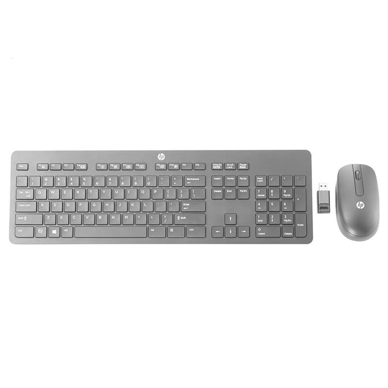 Product image for HP Slim Wireless Keyboard and Mouse Combo - T6L04AA   CX Computer Superstore