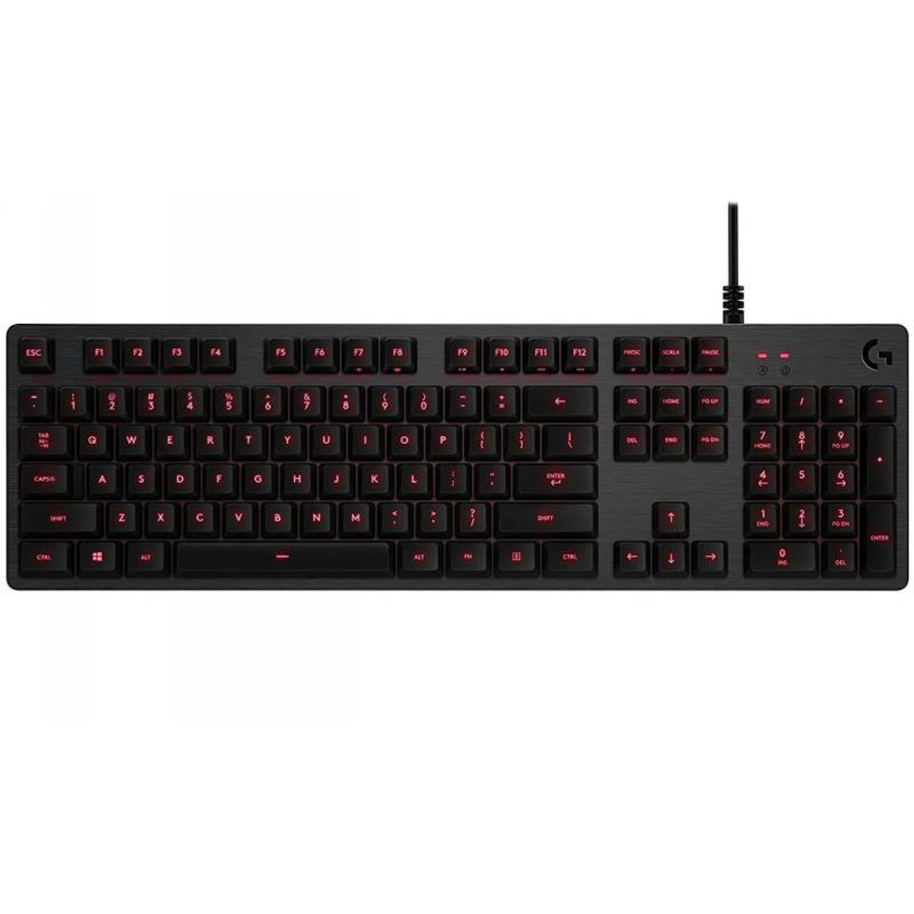 Product image for Logitech G413 Backlit Mechanical Gaming Keyboard Carbon   CX Computer Superstore