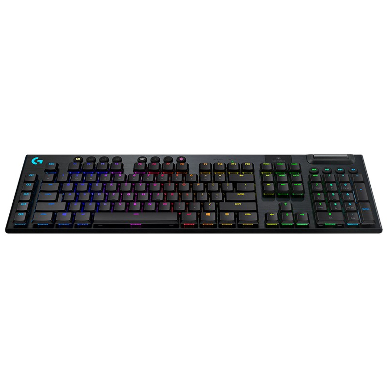 Product image for Logitech G915 LIGHTSPEED Wireless RGB Mechanical Gaming Keyboard - GL Linear | CX Computer Superstore