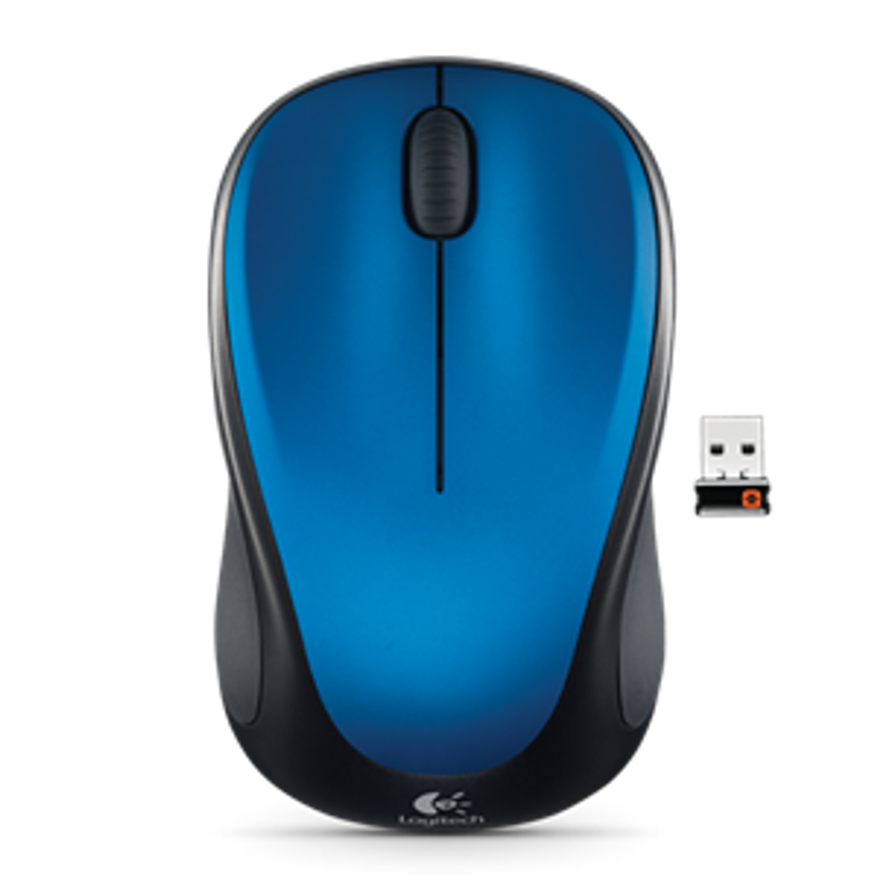 Product image for Logitech Wireless Mouse M235 - Blue | CX Computer Superstore