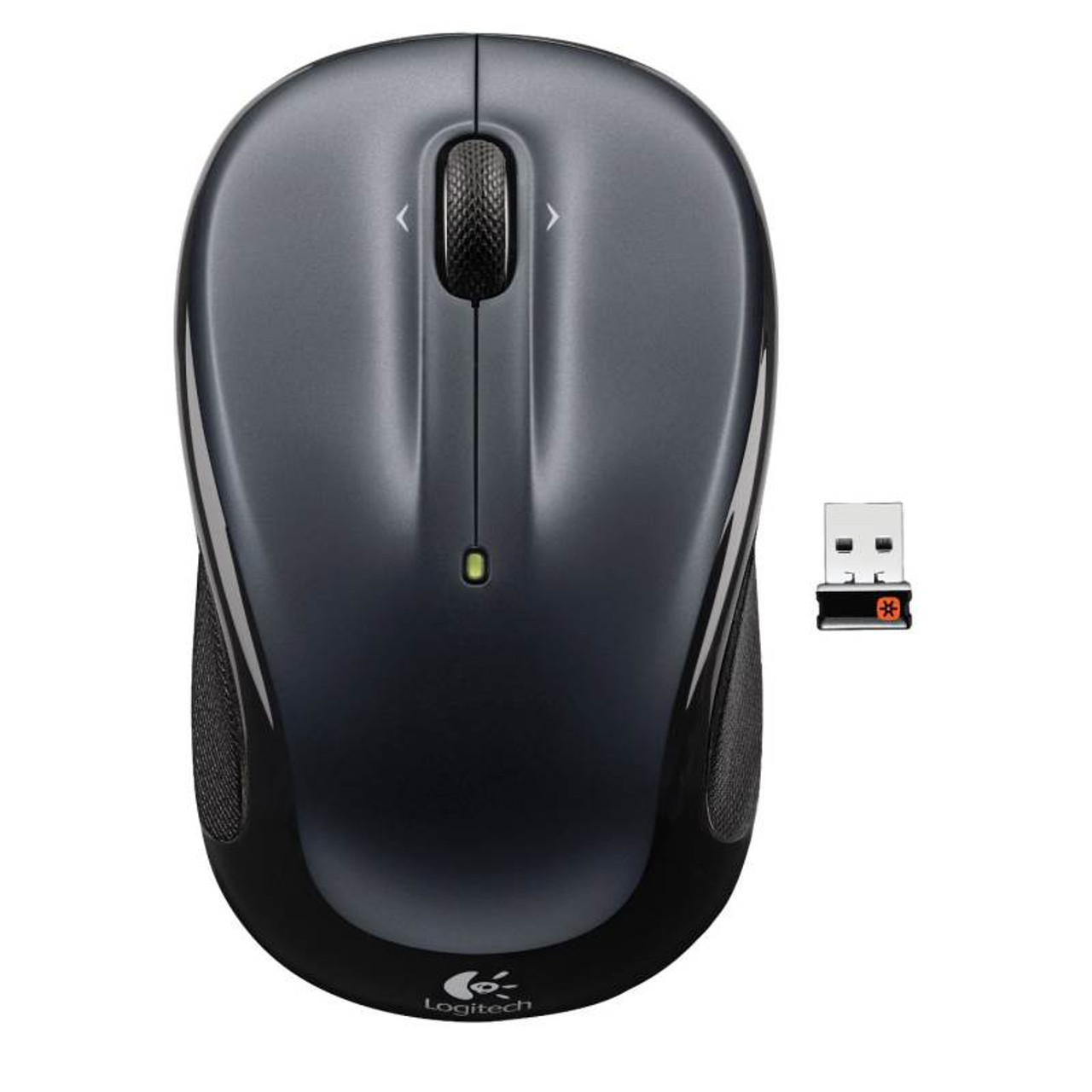 Product image for Logitech M325 Wireless Mouse - Dark Silver   CX Computer Superstore