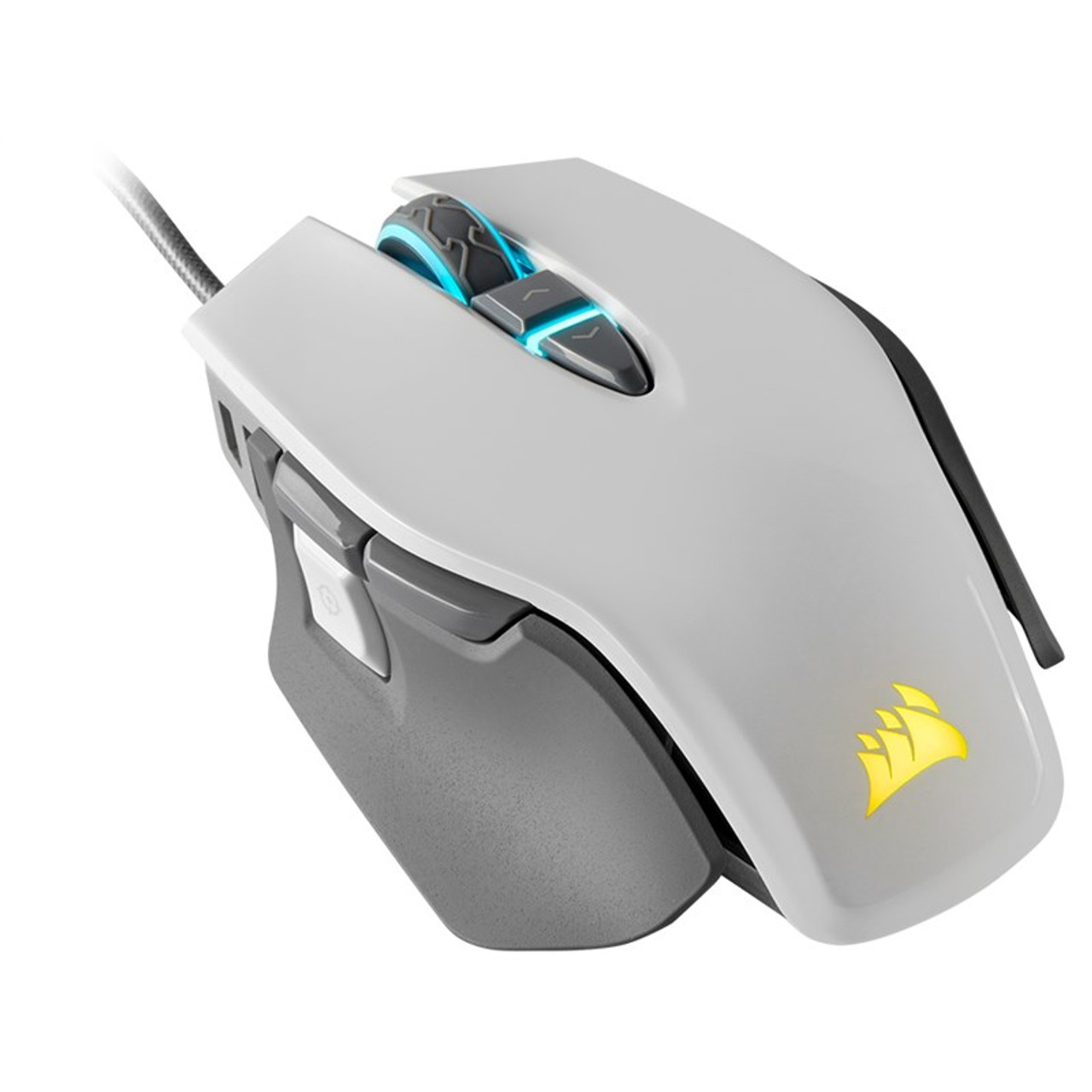 Product image for Corsair M65 Pro Elite Gaming Mouse White   CX Computer Superstore