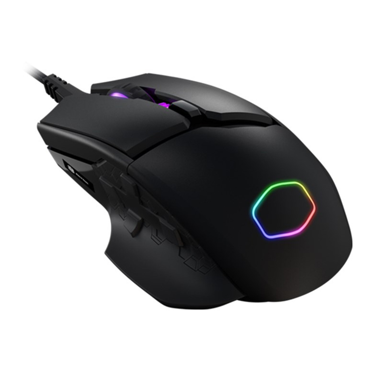 Product image for CoolerMaster MasterMouse 830 RGB Optical Gaming Mouse | CX Computer Superstore