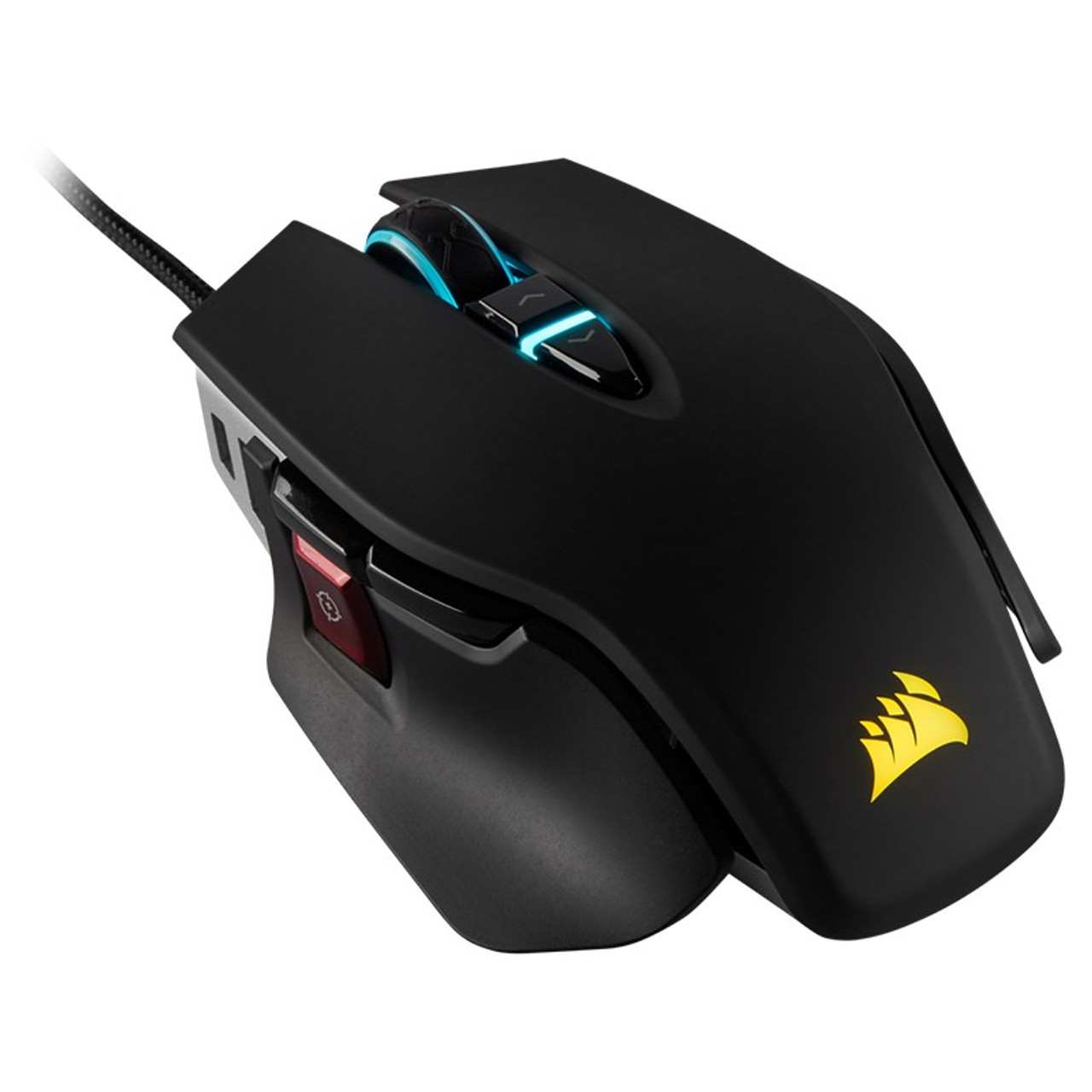 Product image for Corsair M65 RGB ELITE FPS Tunable Optical Gaming Mouse - Black | CX Computer Superstore
