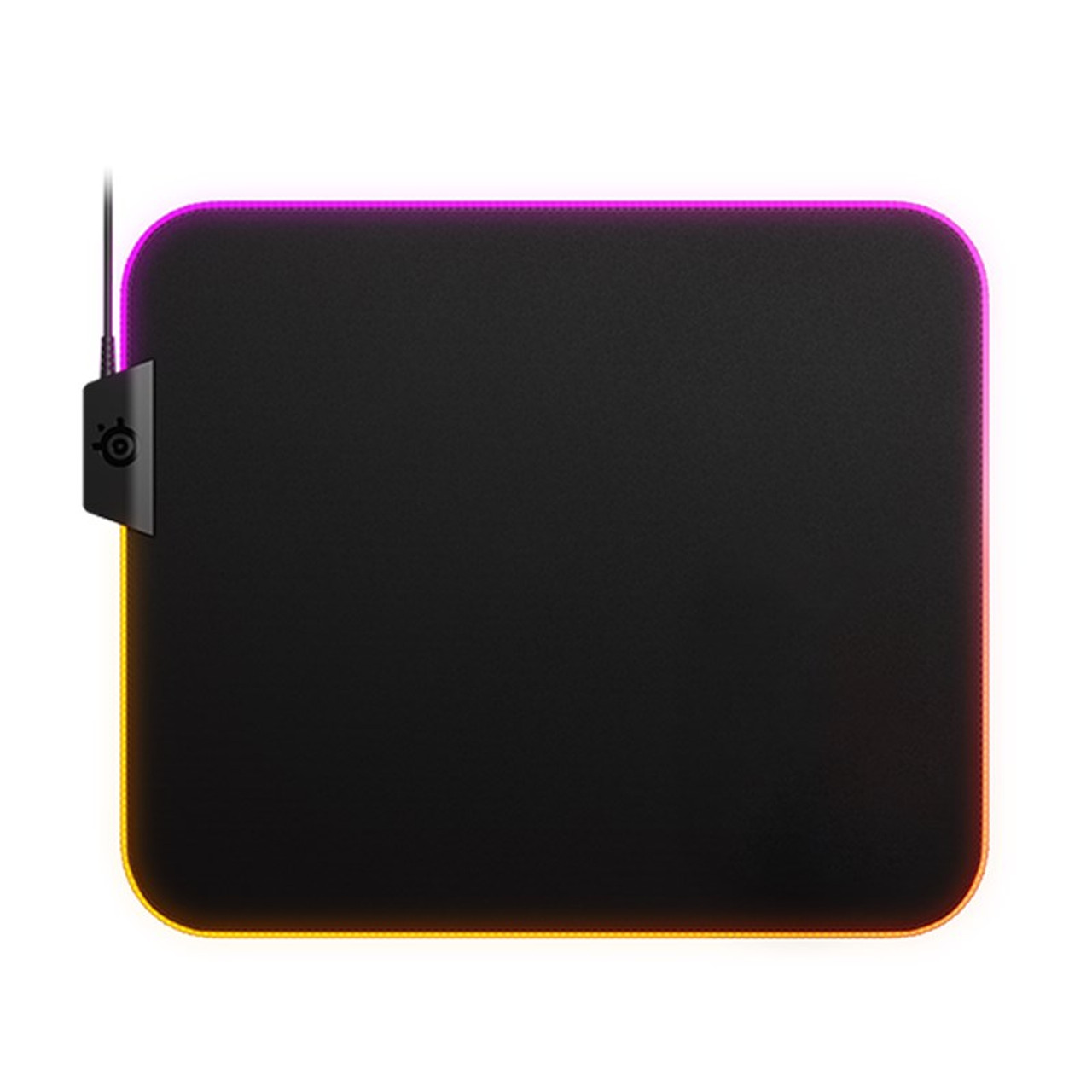 Image for SteelSeries QcK Prism Cloth RGB Gaming Mouse Pad - Medium CX Computer Superstore