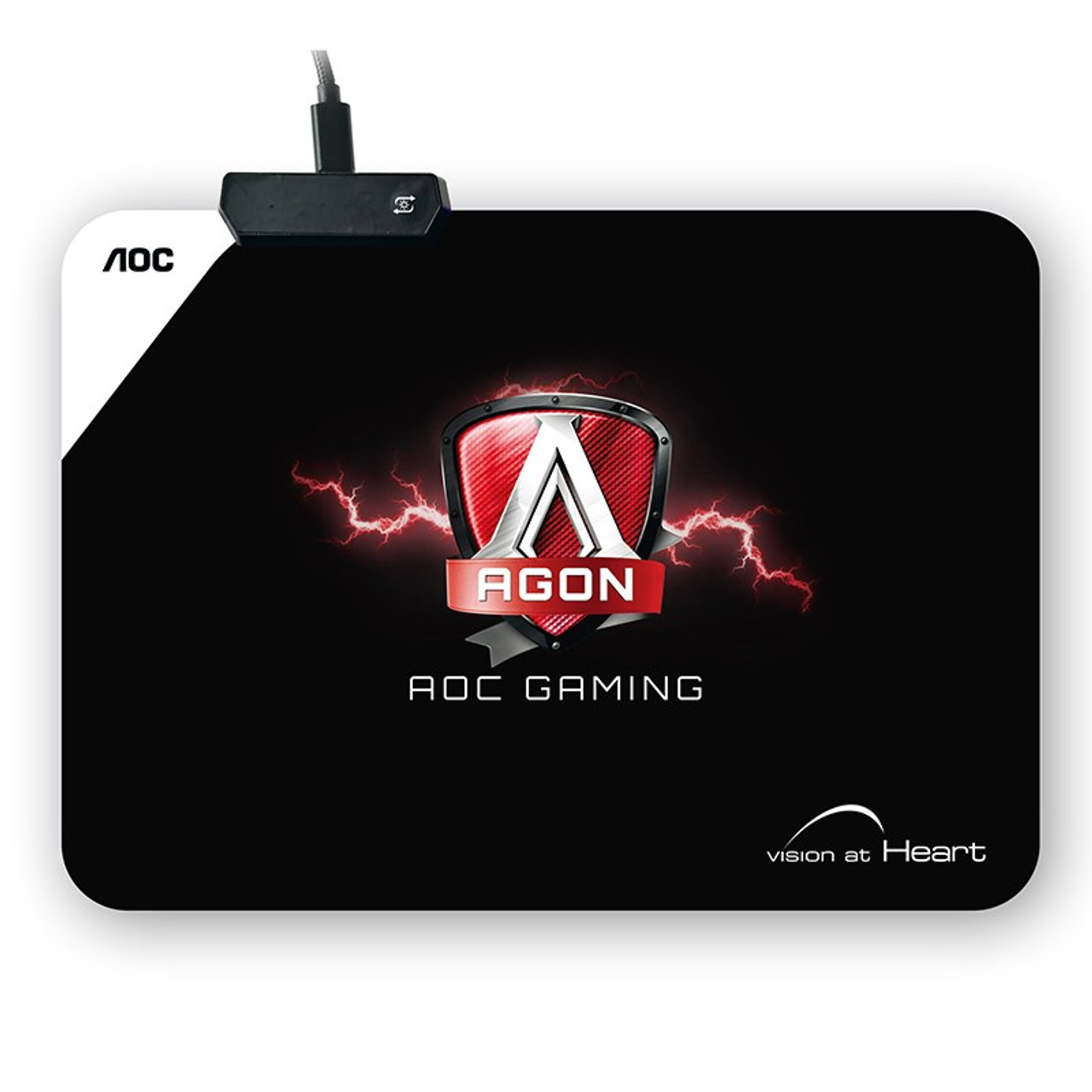 Image for AOC AGON RGB Cloth Gaming Mouse Pad CX Computer Superstore