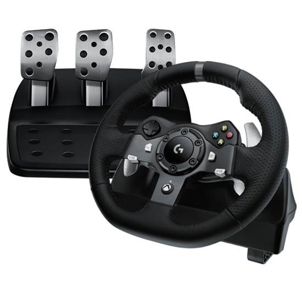 Product image for Logitech G920 Driving Force Racing Wheel for PC & Xbox One | CX Computer Superstore