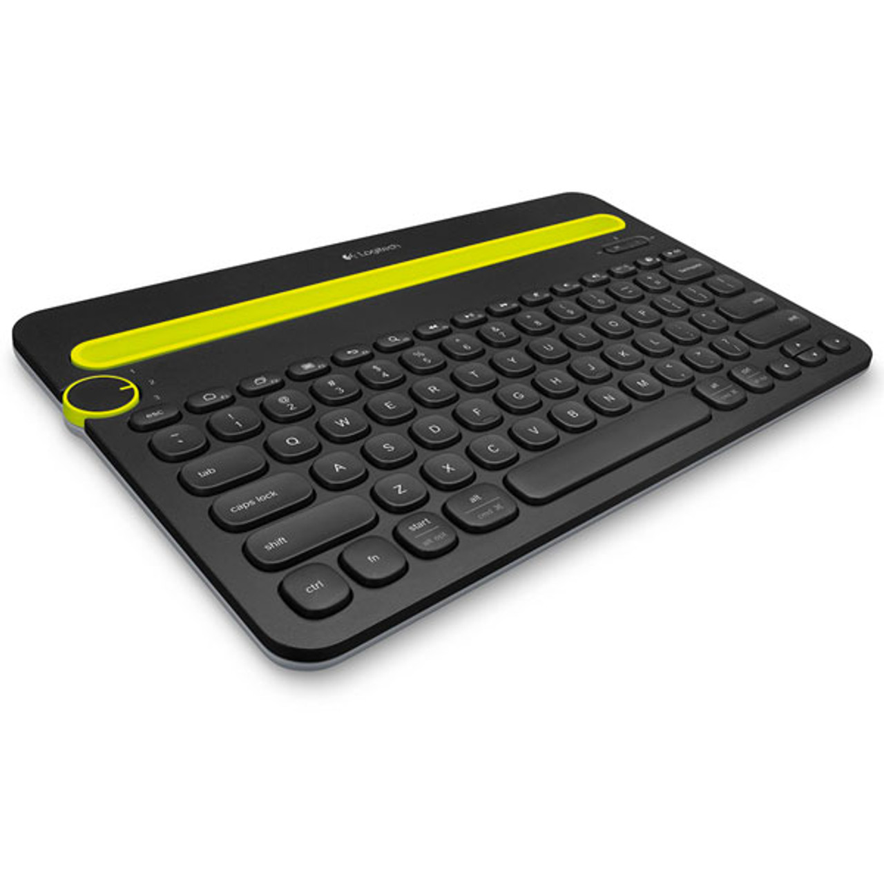 Product image for Logitech K480 Multi-Device Bluetooth Keyboard - Black   CX Computer Superstore