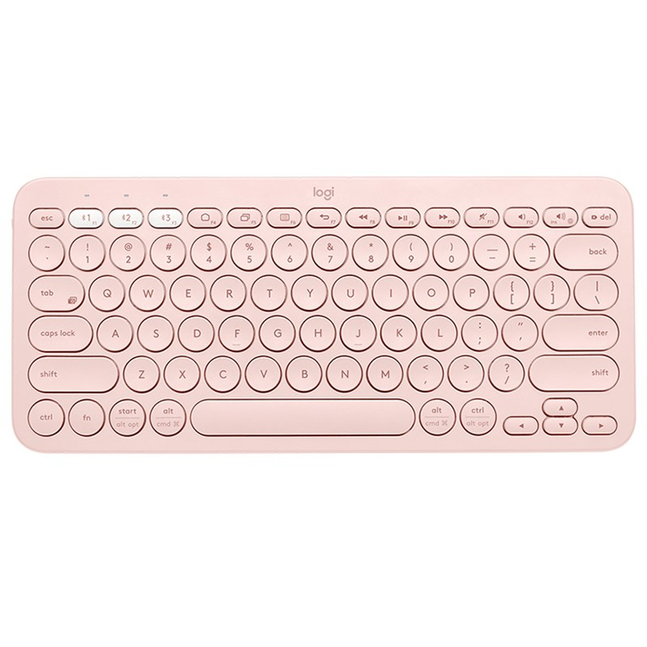 Image for Logitech K380 Multi-Device Wireless Bluetooth Keyboard - Rose CX Computer Superstore