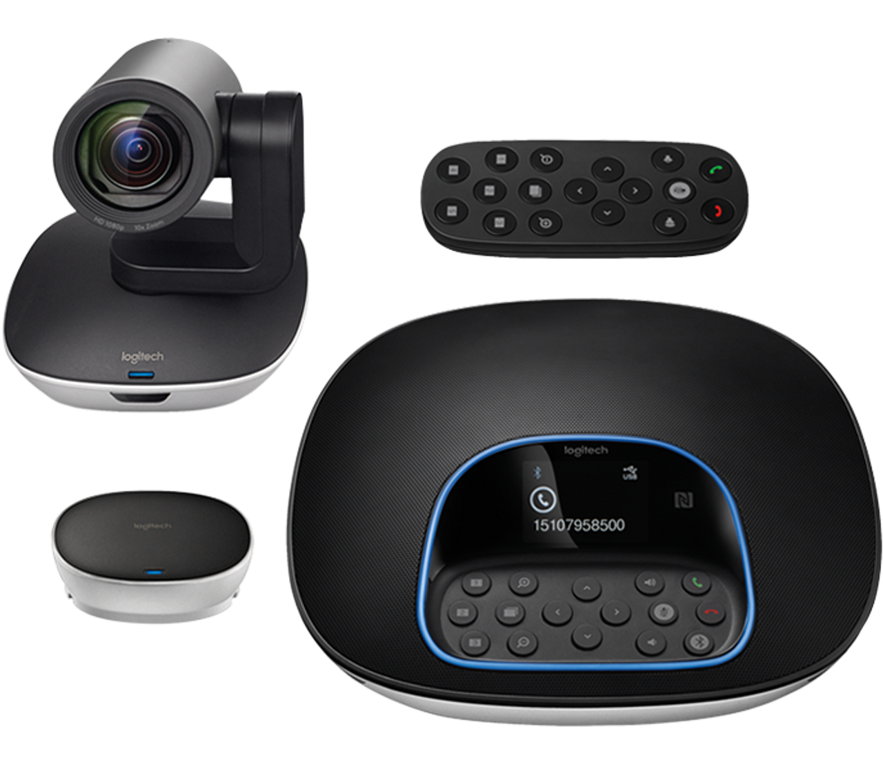 Product image for Logitech GROUP Video Conferencing System for Mid/Large-Sized Meeting Rooms   CX Computer Superstore