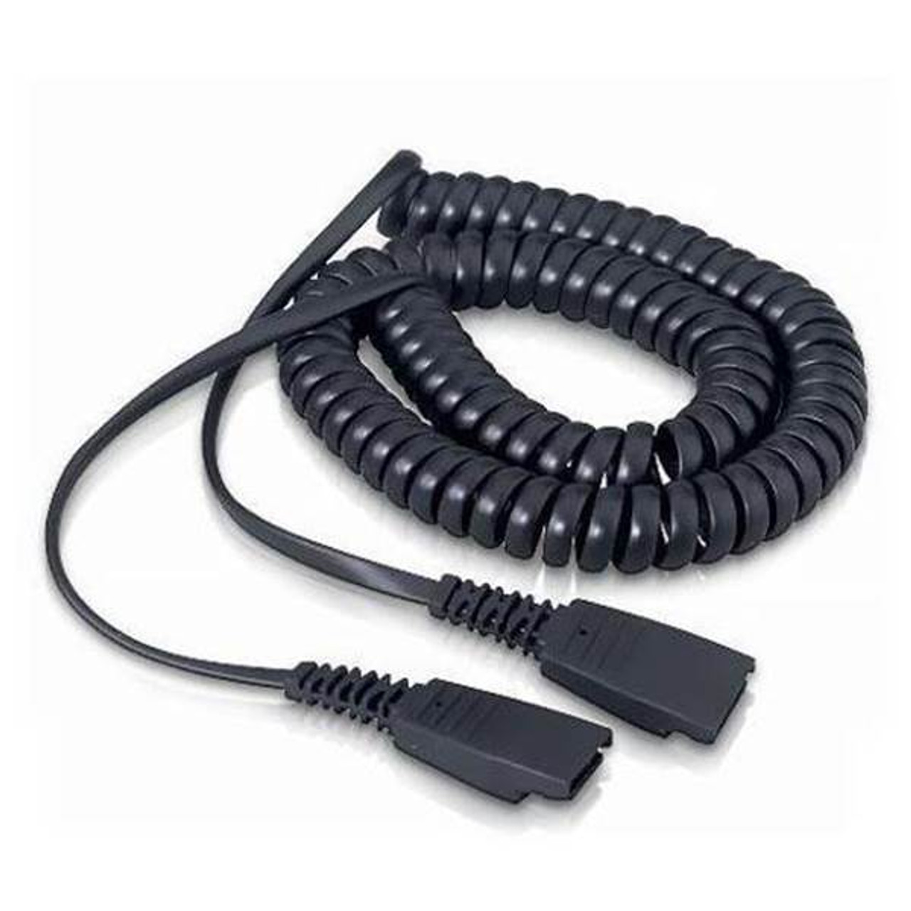Image for Jabra QD to QD 2m Coiled Cord CX Computer Superstore
