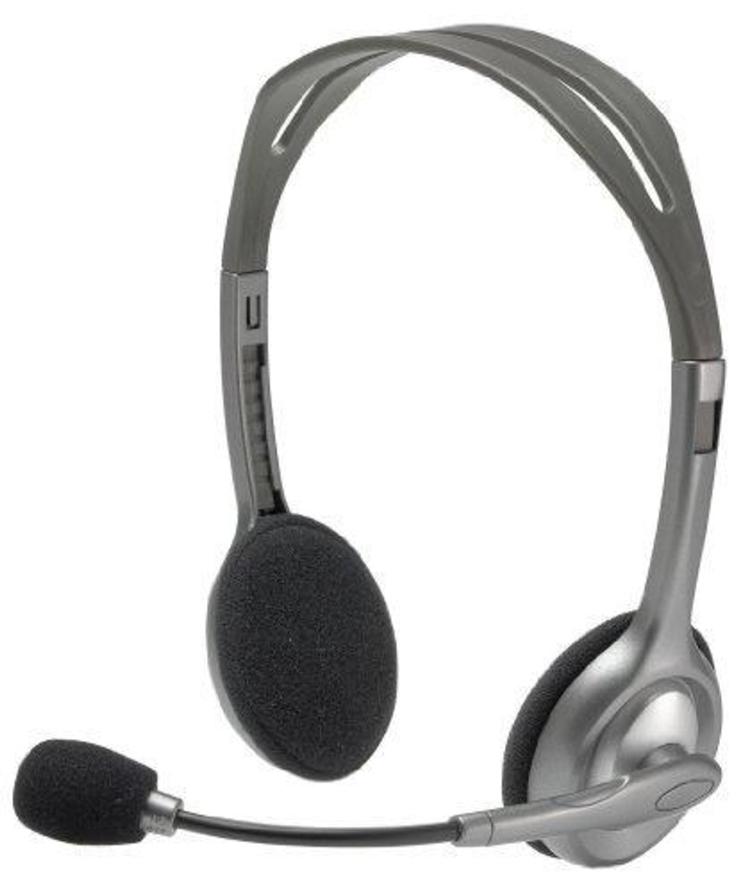 Product image for Logitech H110 Stereo Headset   CX Computer Superstore