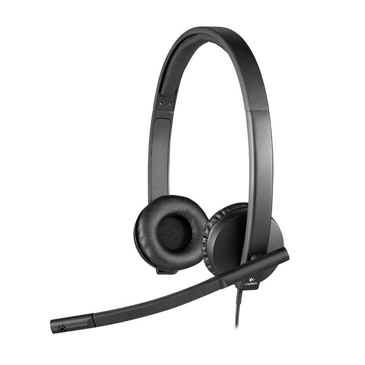 Image for Logitech H570E On-Ear USB Headset CX Computer Superstore