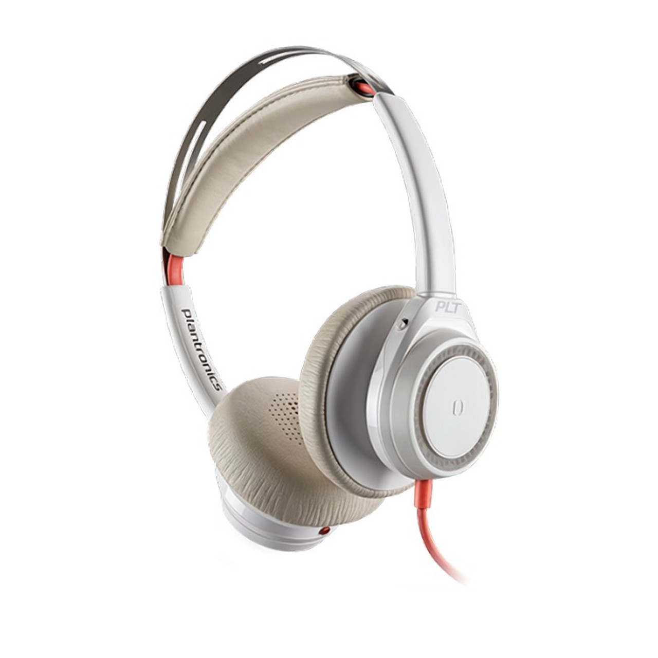 Image for Plantronics Blackwire 7225 Noise Cancelling USB Stereo Headset - White CX Computer Superstore