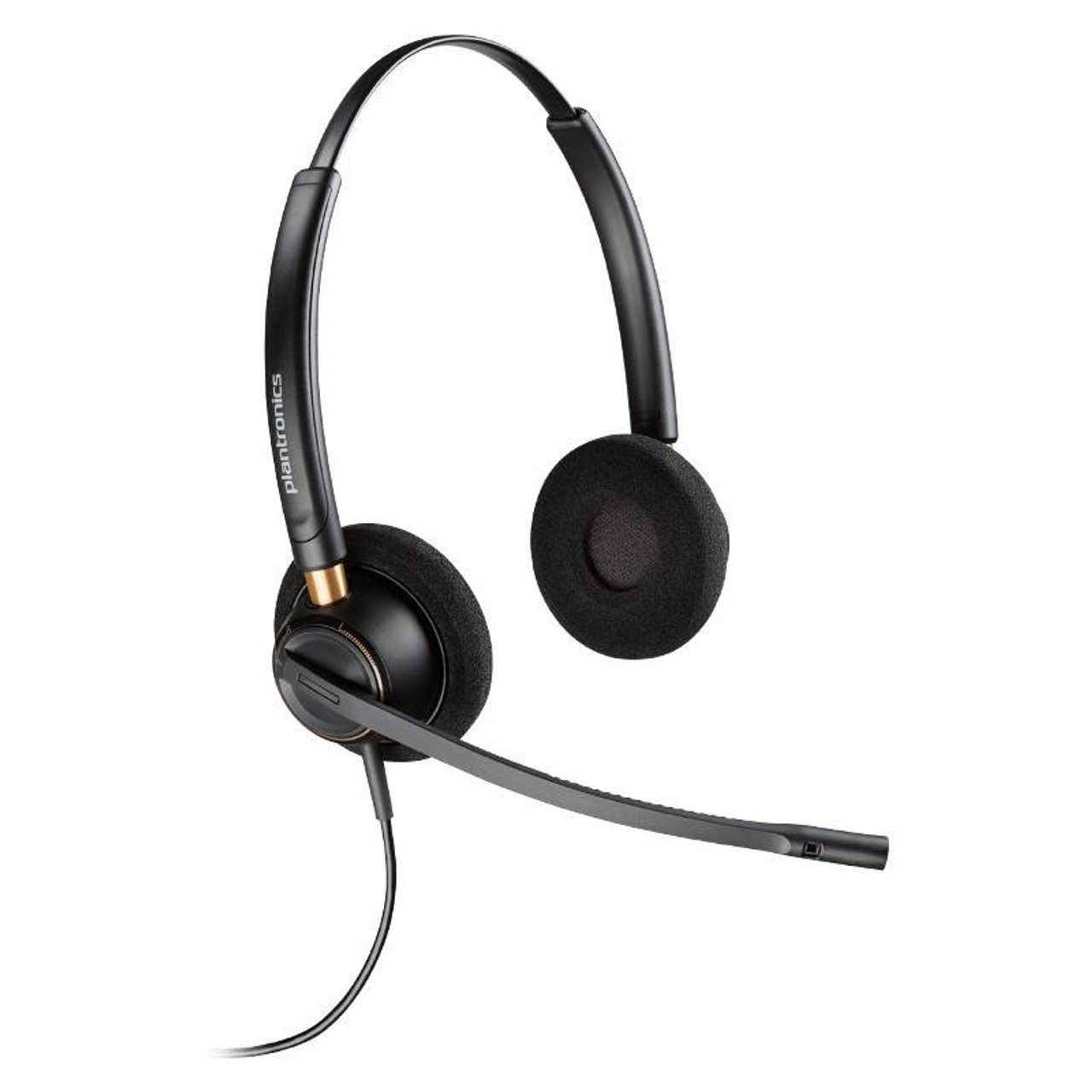 Image for Plantronics EncorePro HW520 Over-the-Head Binaural NC Corded Headset CX Computer Superstore