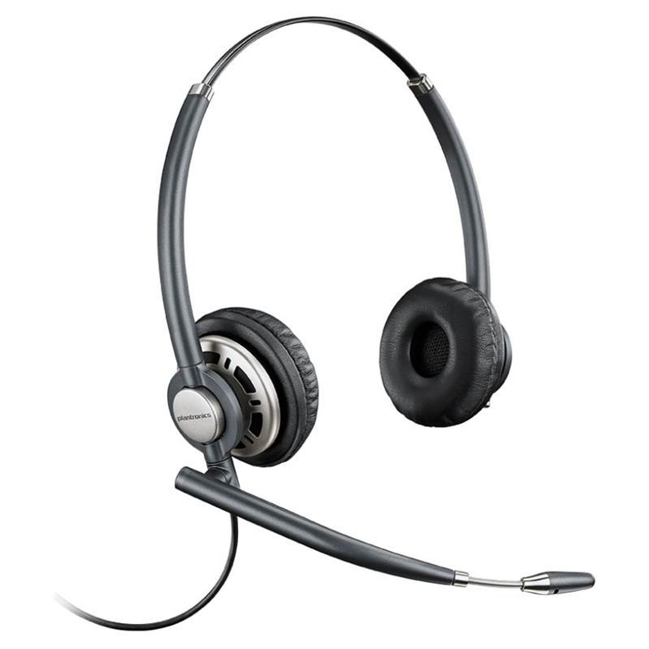 Image for Plantronics EncorePro HW720D Wideband Binaural NC Corded Headset CX Computer Superstore
