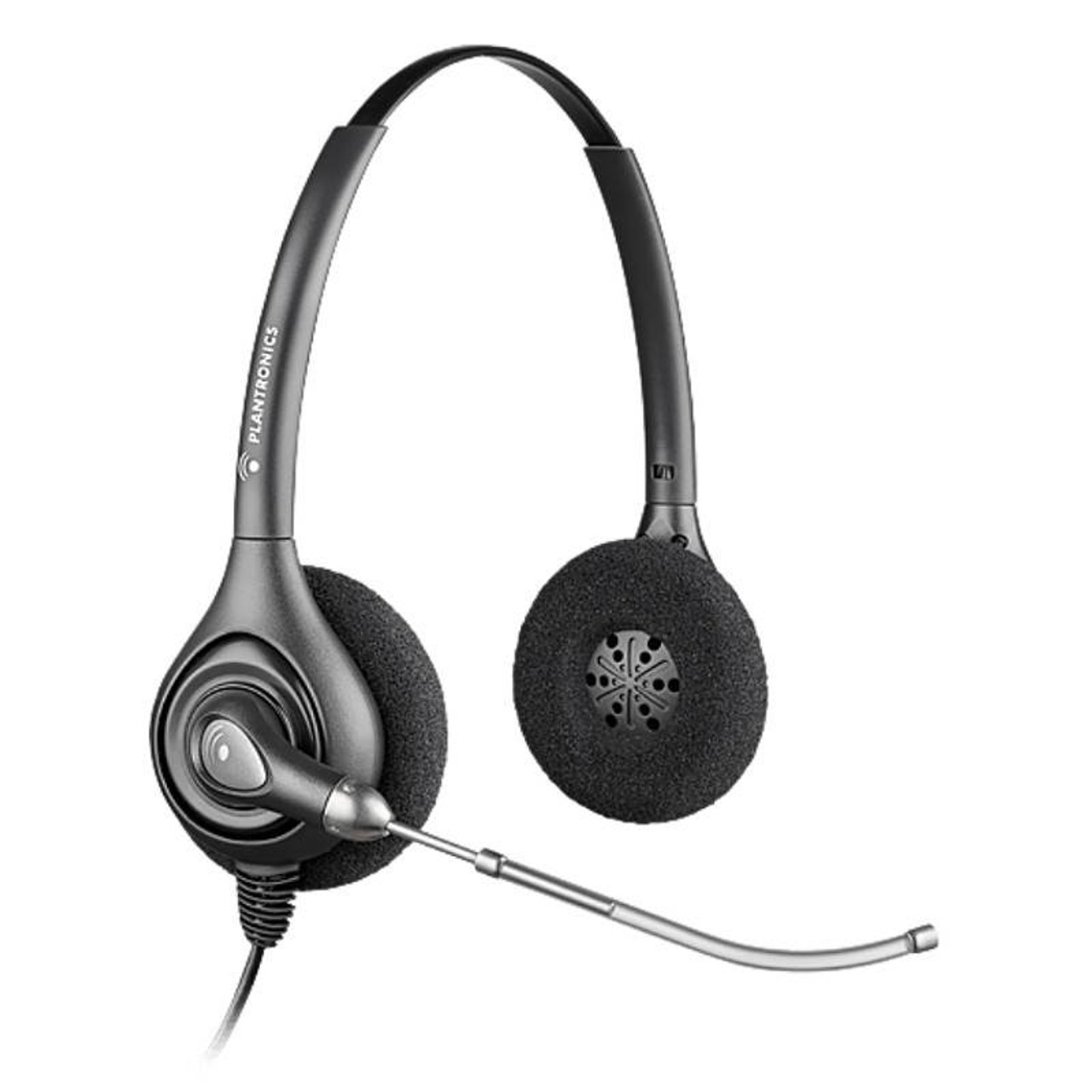 Image for Plantronics Supraplus HW261N Over-the-Head NC Corded Headset CX Computer Superstore