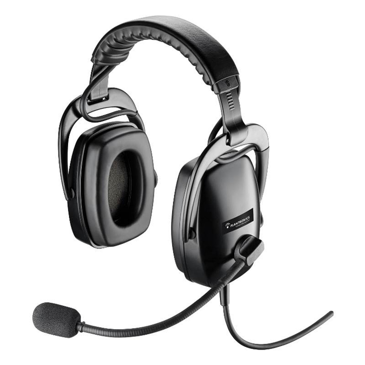 Image for Plantronics SHR2083-01 Dual-Ear Circumaural Ruggedized Noise-Cancelling Headset CX Computer Superstore