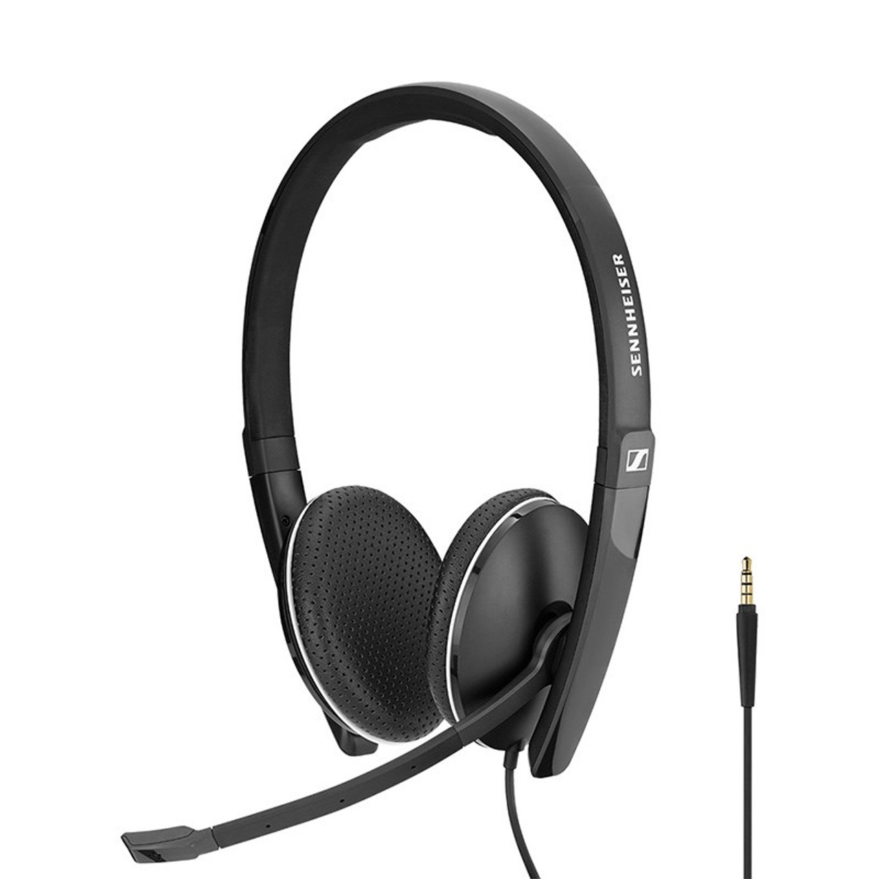 Image for Sennheiser SC 165 Stereo Headset with 3.5mm Jack CX Computer Superstore