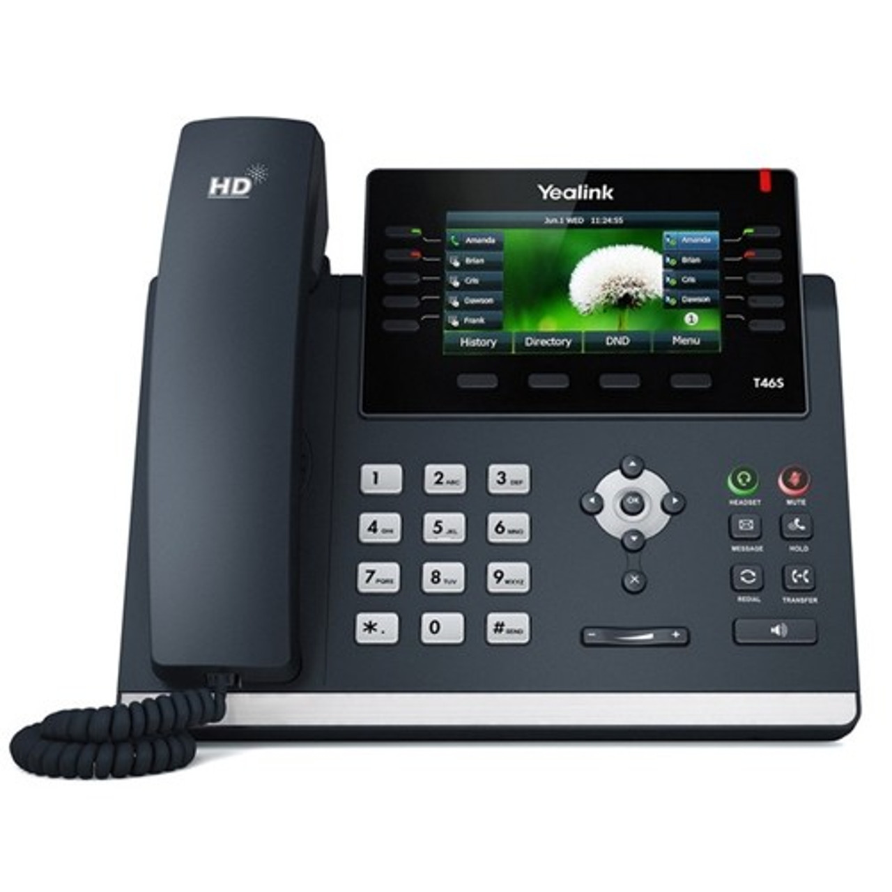 Product image for Yealink SIP-T46S 6 Line IP Phone   CX Computer Superstore