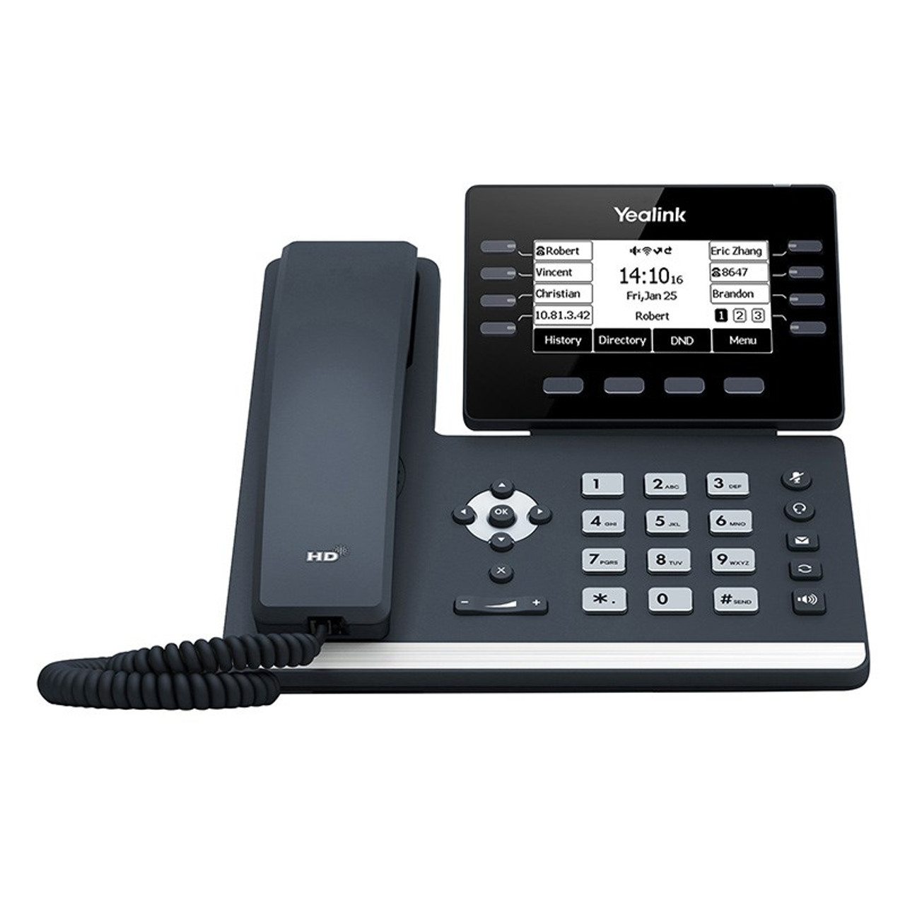 Product image for Yealink SIP-T53W 12 Line IP HD Business Phone    CX Computer Superstore