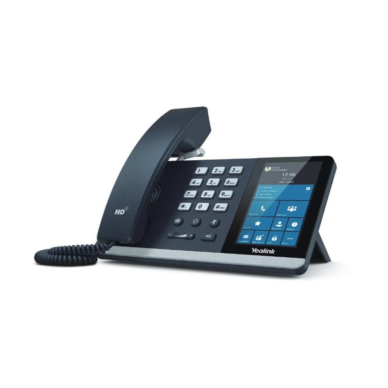 Product image for Yealink T55A-SFB HD Android Smart Business Phone - Skype For Business Edition  | CX Computer Superstore