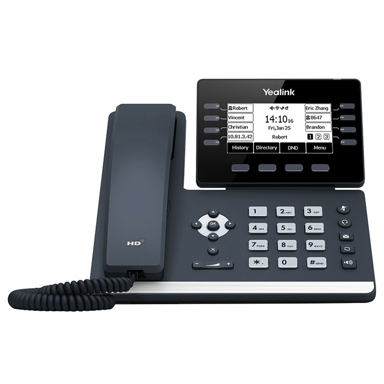 Product image for Yealink SIP-T53 12 Line IP HD Business Phone CX Computer Superstore