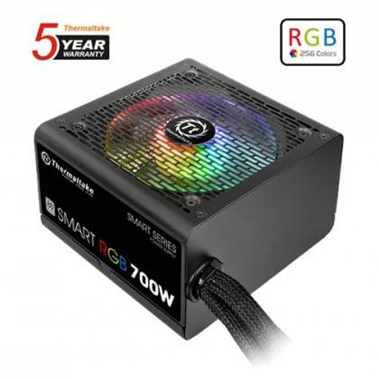 Image for Thermaltake SMART RGB 700W 80 PLUS Power Supply CX Computer Superstore