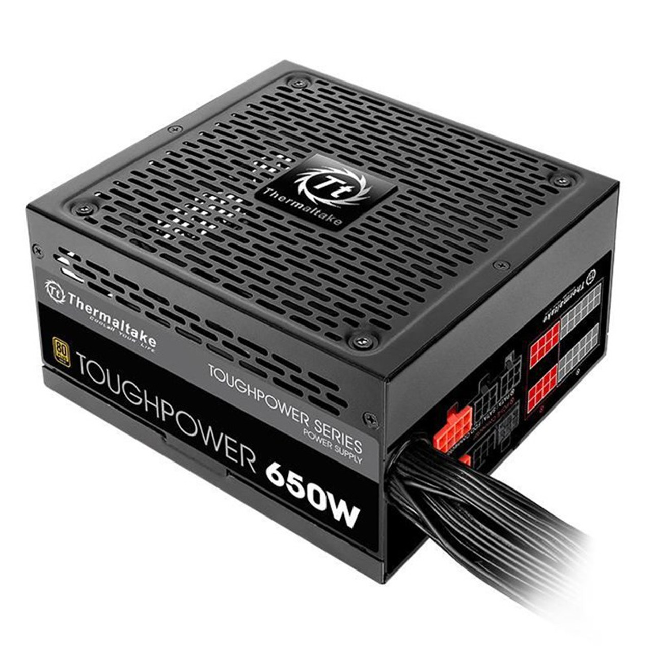 Image for Thermaltake Toughpower 650W 80+ Gold Semi-Modular Power Supply CX Computer Superstore