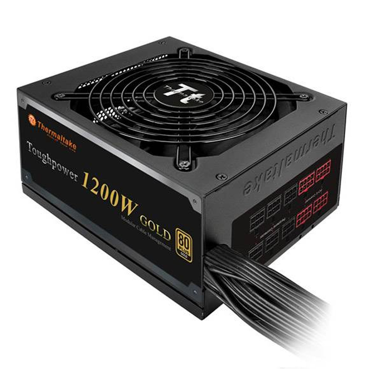 Image for Thermaltake Toughpower GOLD 1200W Modular Power Supply CX Computer Superstore