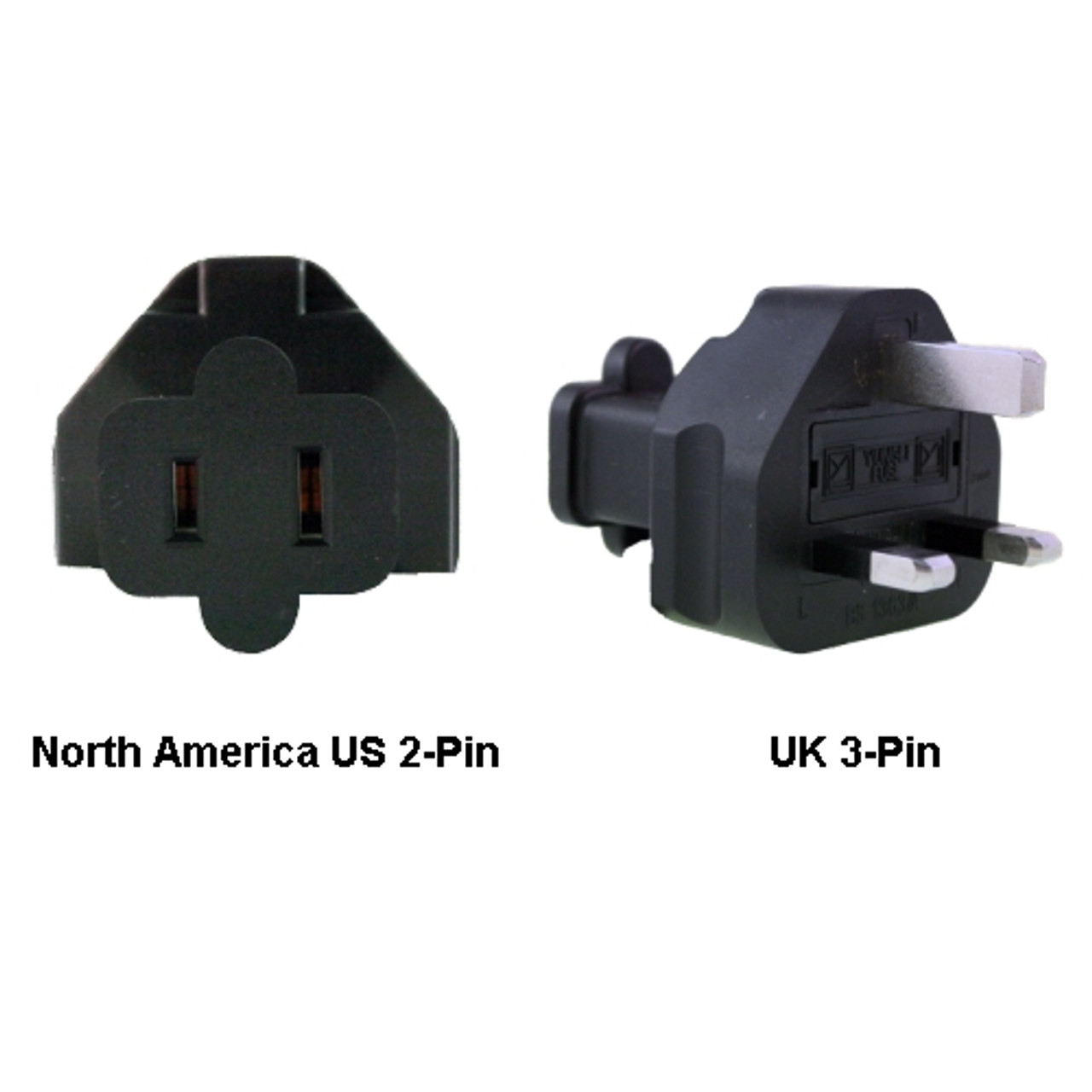 Product image for North America US to UK Power Adapter Plug | CX Computer Superstore