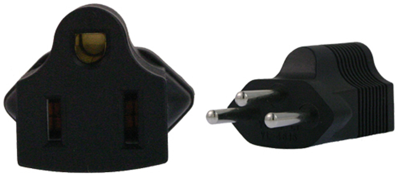 Product image for US 3 Pin to Swiss 3 Pin Plug Adapter   CX Computer Superstore