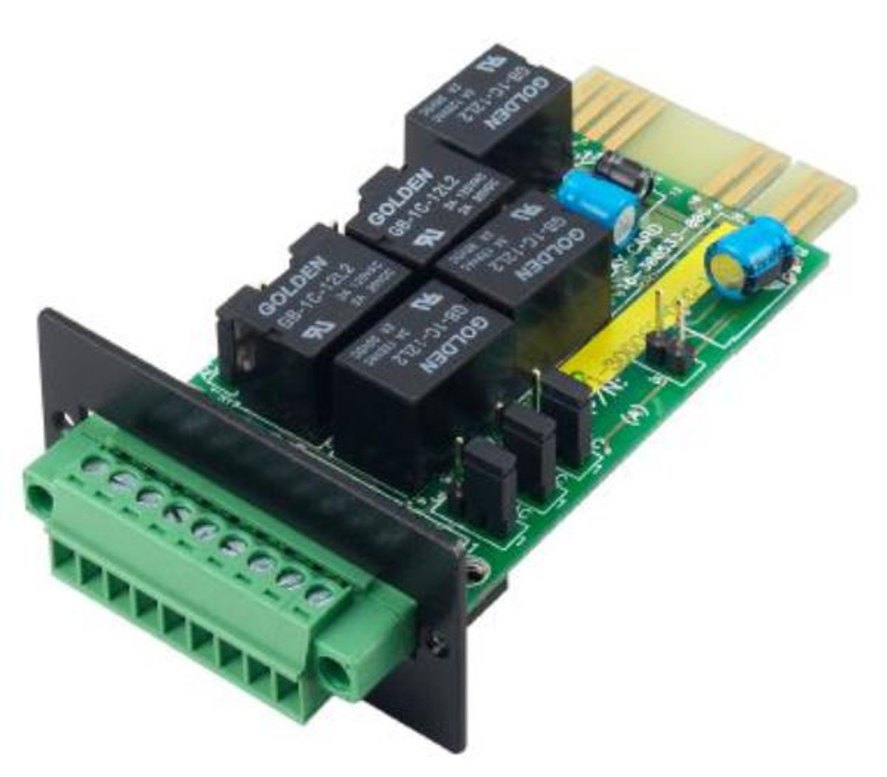 Product image for PowerShield AS400 Dry Relay Communication Card for PSC1000, PSC2000 PowerShield UPS | CX Computer Superstore