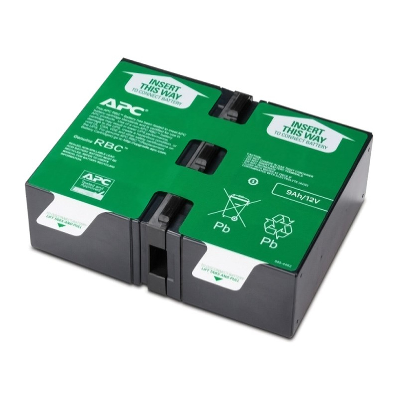 Image for APC Replacement Battery Cartridge #124 UPS Battery CX Computer Superstore