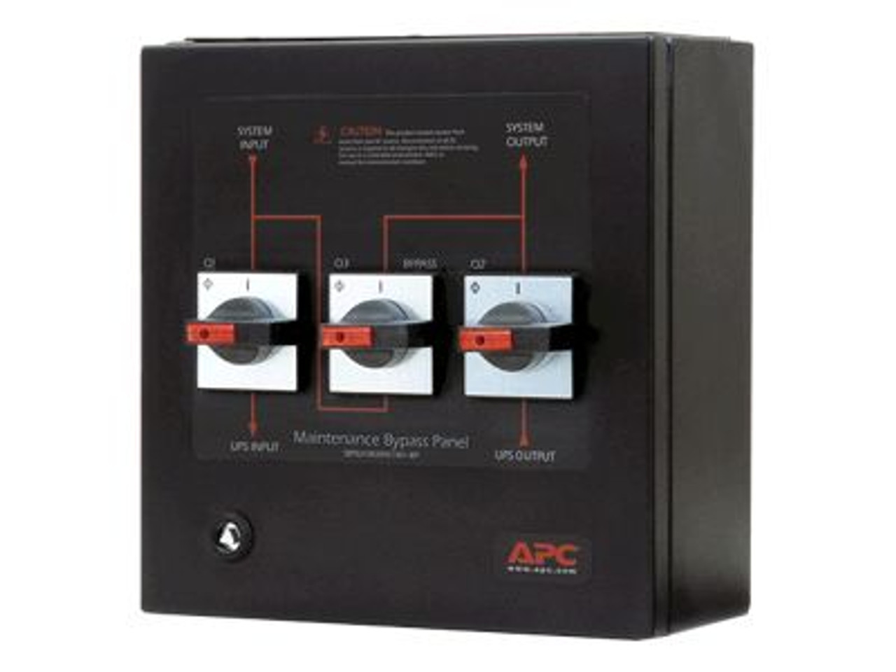 Image for APC Service Bypass Panel Bypass Switch - Wallmount CX Computer Superstore