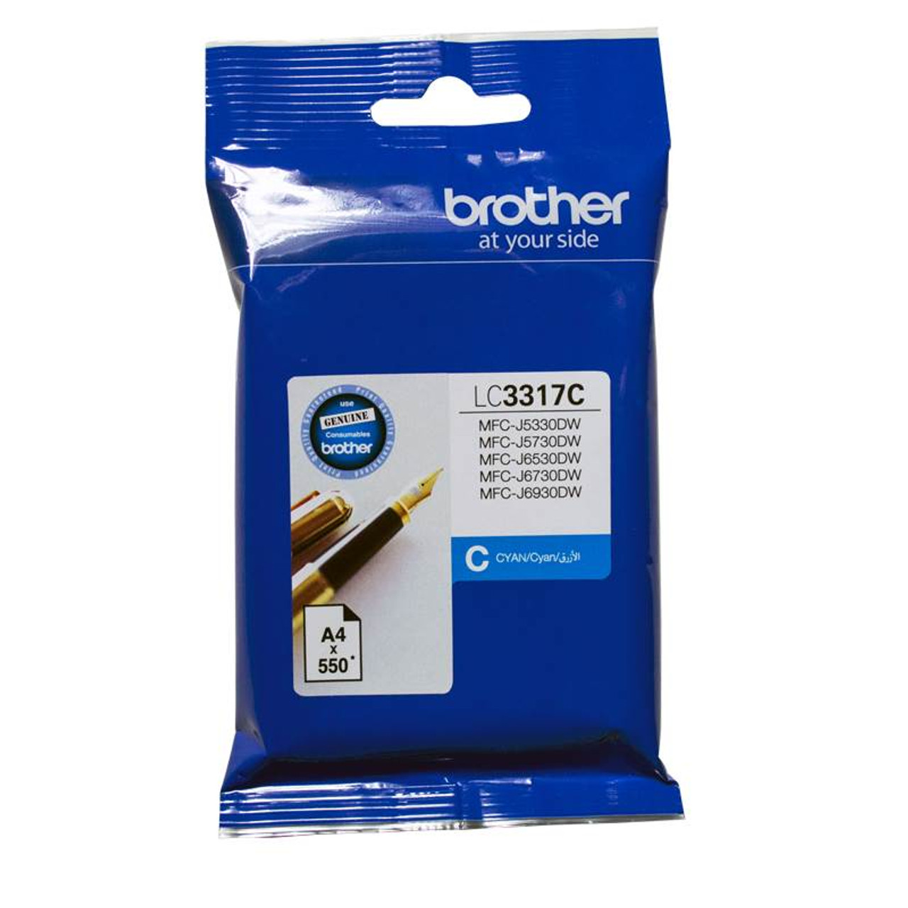 Image for Brother LC-3317C Cyan Ink-jet Cartridge CX Computer Superstore