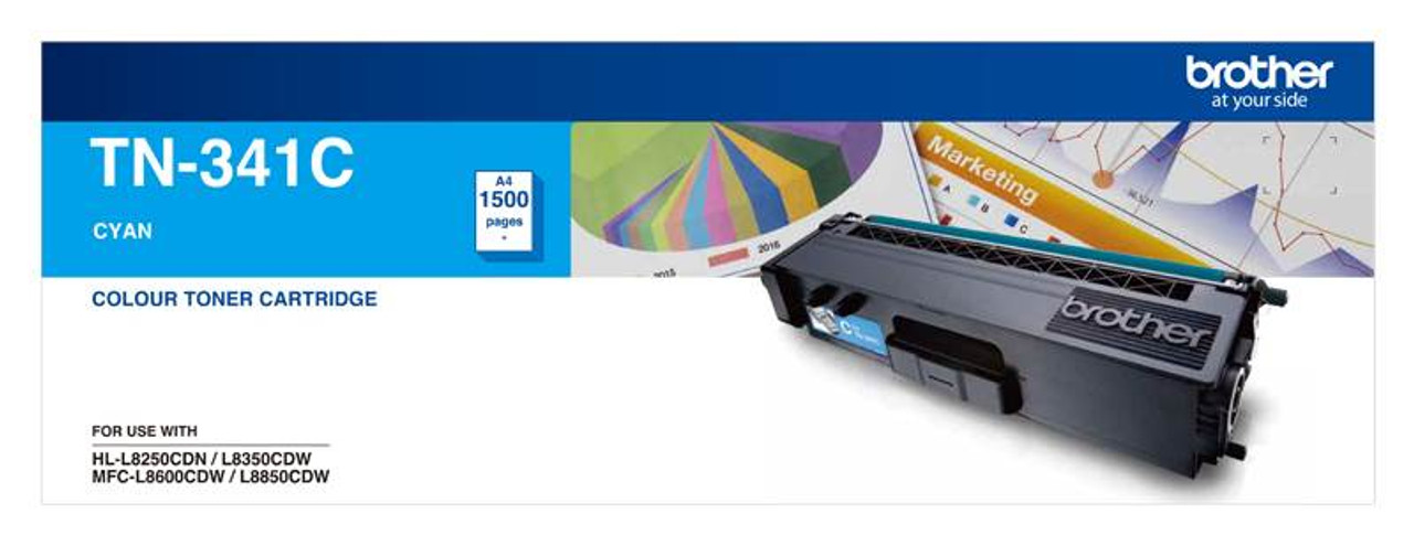 Image for Brother TN-341C Cyan Toner CX Computer Superstore