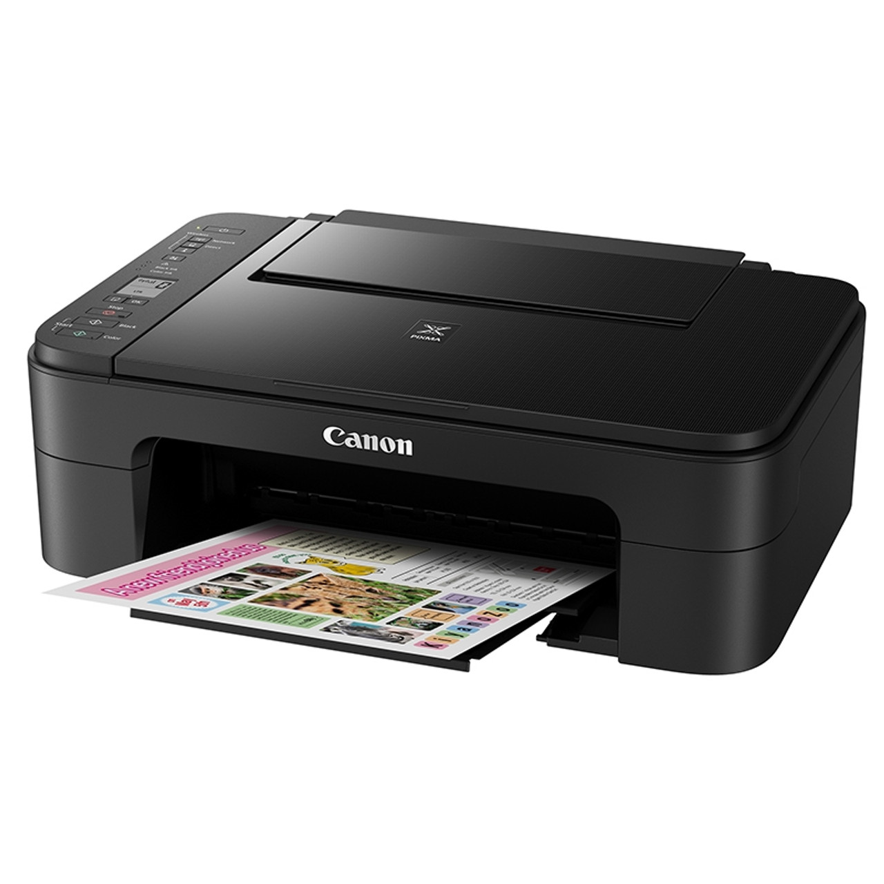 Product image for Canon Pixma Home TS3160 A4 Colour Multifunction Wireless Inkjet Printer - Black | CX Computer Superstore