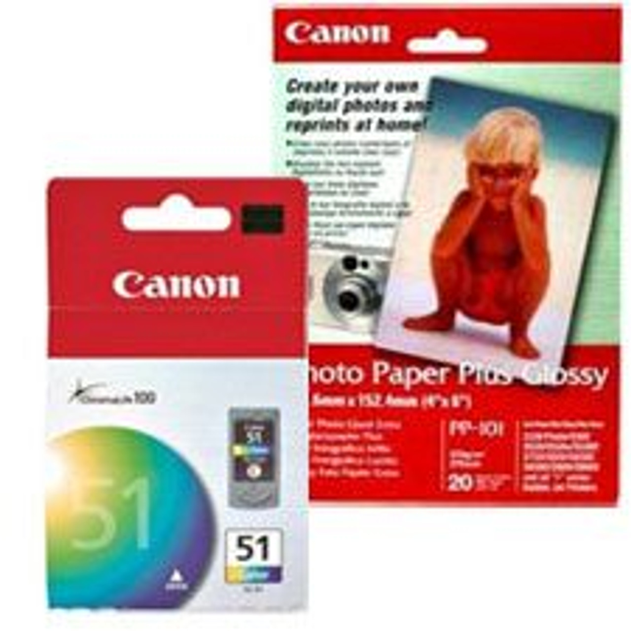 Image for Canon CL-51 Value Pack 1 x CL51 High-Capacity Color Ink CX Computer Superstore