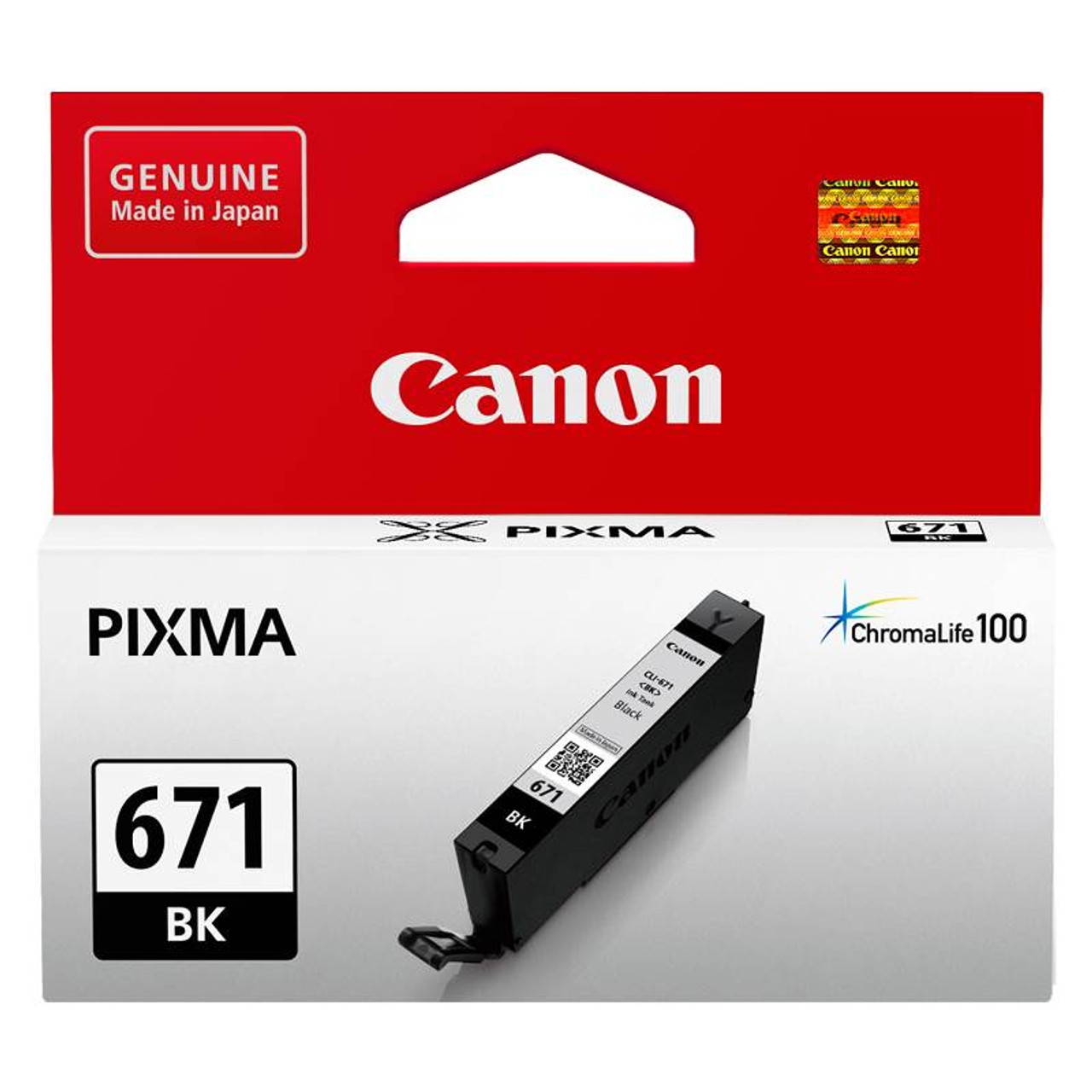 Image for Canon CLI-671BK Black Ink Cartridge CX Computer Superstore