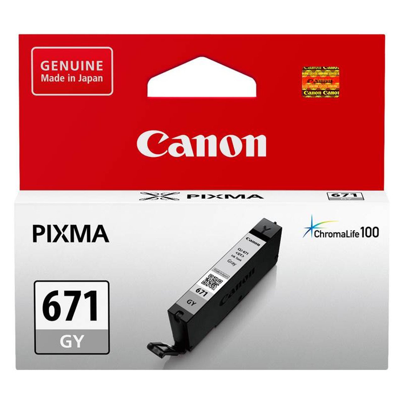 Image for Canon CLI-671GY Grey Ink Cartridge Up To 780 pages CX Computer Superstore
