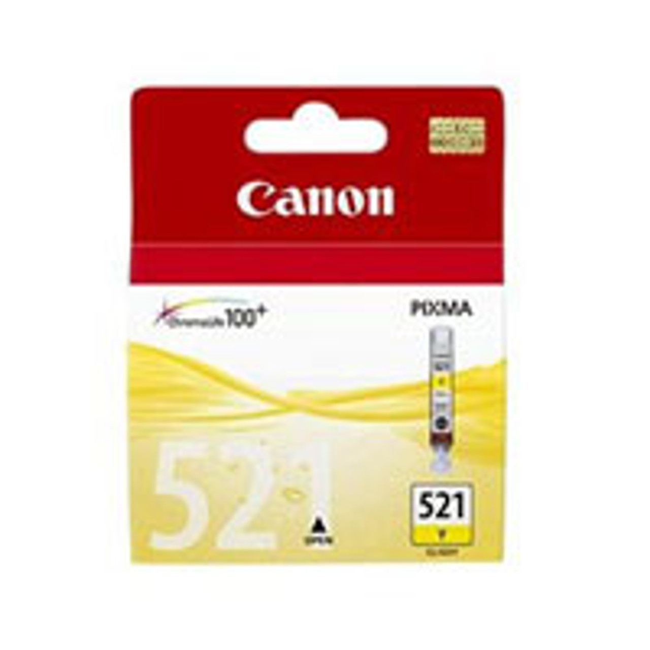 Image for Canon CLI521 Yellow Ink Cart 477 pages Yellow CX Computer Superstore