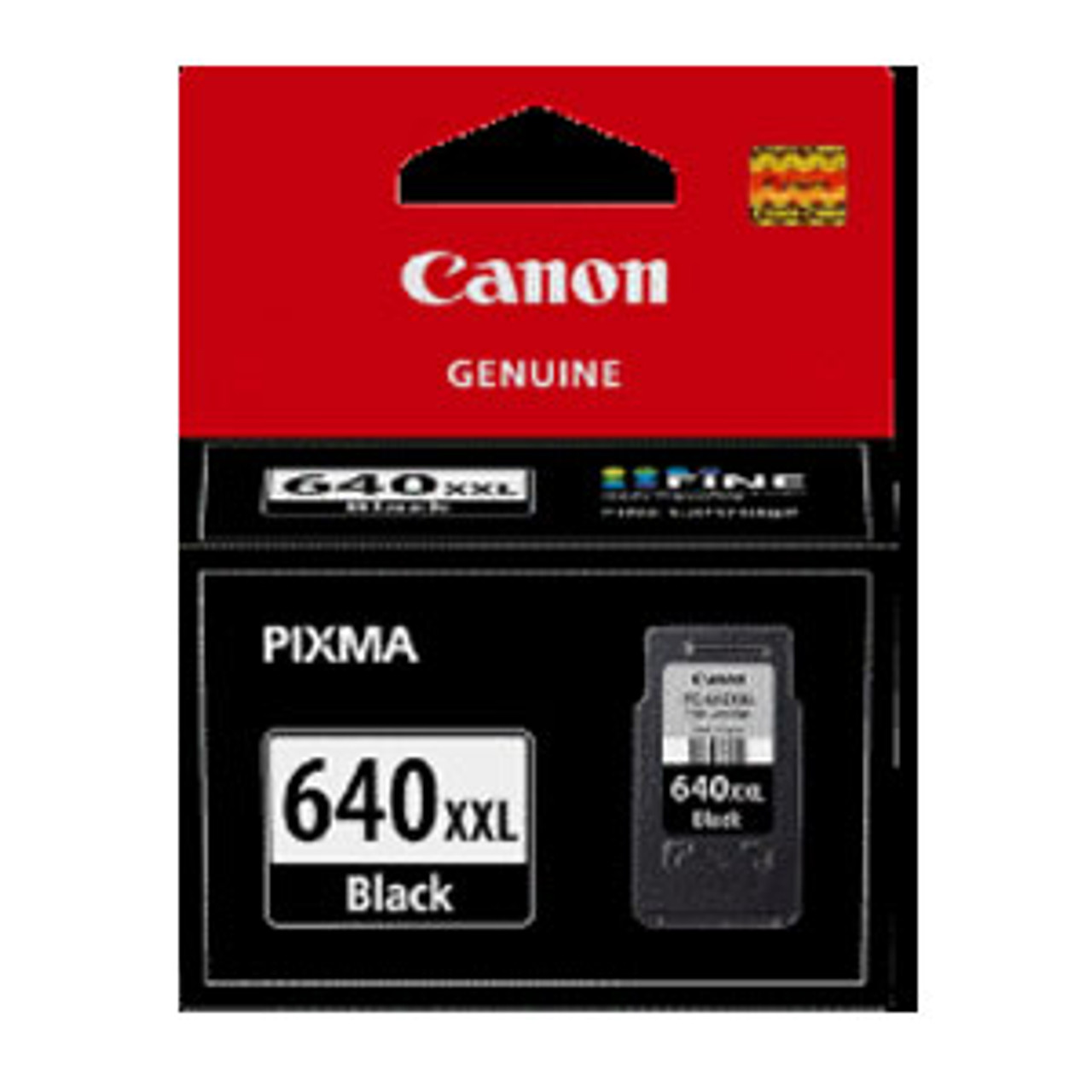 Image for Canon PG640XXL Black Ink Cart 600 pages Black CX Computer Superstore