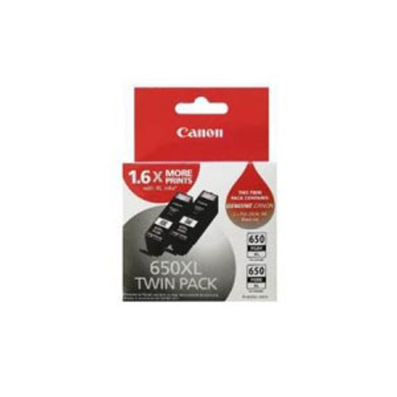 Image for Canon 650XL Twin Pack Black CX Computer Superstore