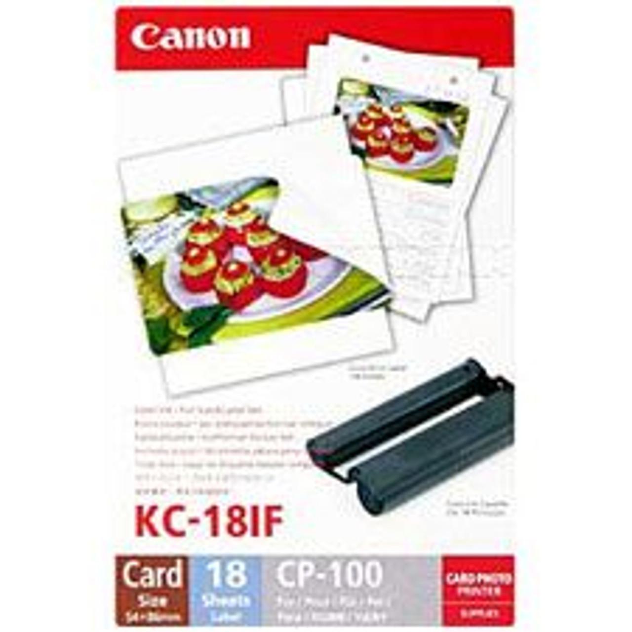 Image for Canon Card Full Size Label & Ink Pack 18 Sheets CX Computer Superstore