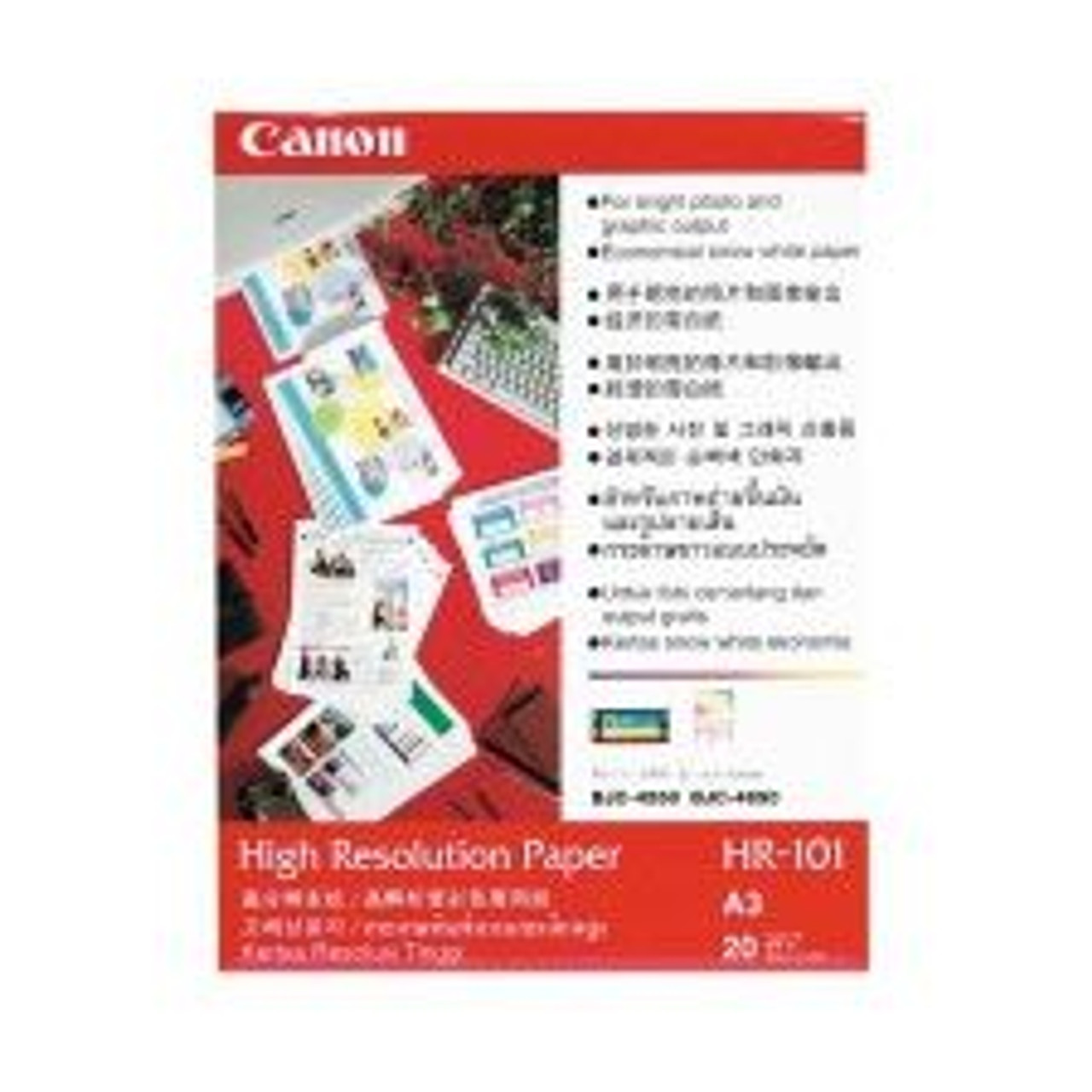 Image for Canon High Resolution A3 Paper 110 gsm (HR-101NA3II) CX Computer Superstore