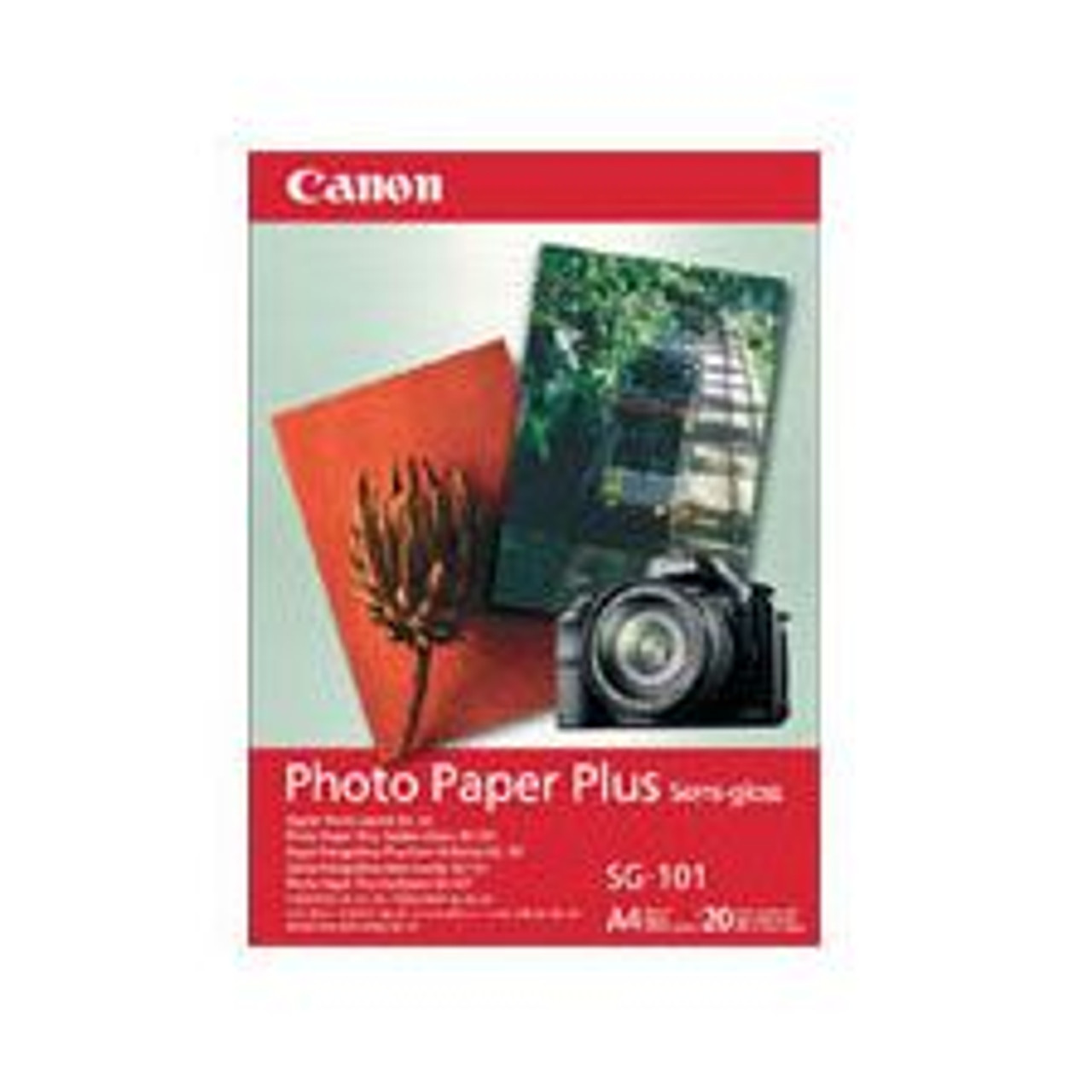 Image for Canon SG2014X6 20 Sheets 260gsm Semi Gloss Photo Paper CX Computer Superstore
