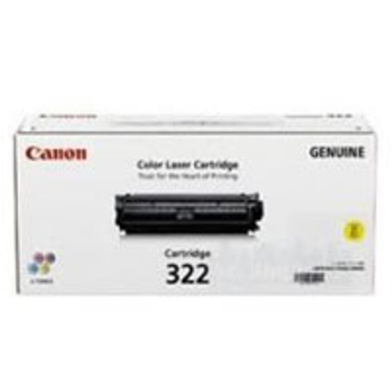 Image for Canon 332 Yellow Toner Cartridge 6,400 pages Yellow CX Computer Superstore