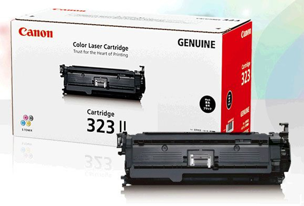 Image for Canon 323BK II Black Toner cartridge 1K pages CX Computer Superstore