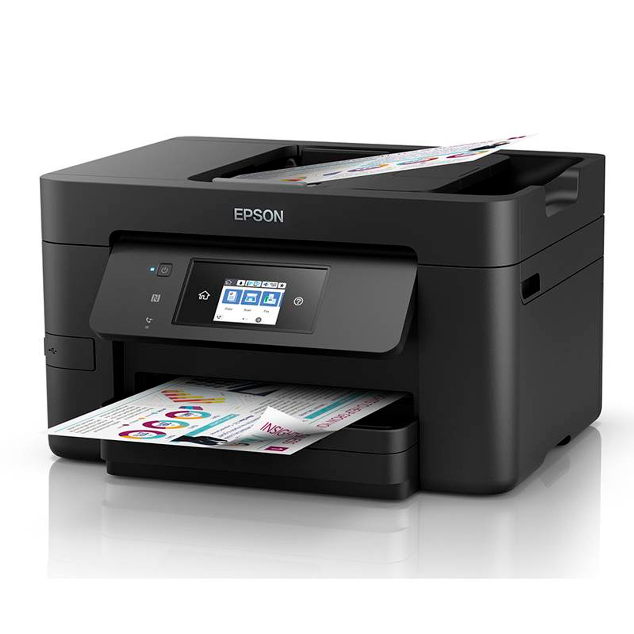 Product image for Epson WorkForce Pro WF-4745 Colour A4 Multifunction Wireless Inkjet Printer   CX Computer Superstore